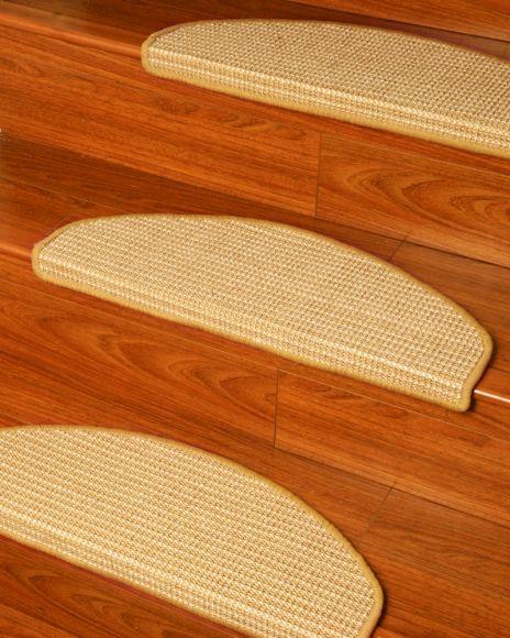 Images Euro Sisal Carpet Stair Tread � Set Of 13 World S Finest | Sisal Carpet Stair Treads | Oak Valley | Skid Sisal | Stair Runner | Fiber Sisal | Landing Mat