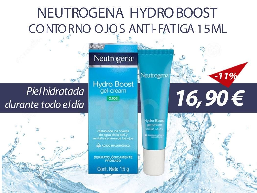 Neutrogena Neutrogena Hydro Boost Contorno Ojos Anti Fatiga 15ml Farmacias 1000 Contorno De Ojos Neutrogena Tipos De Piel