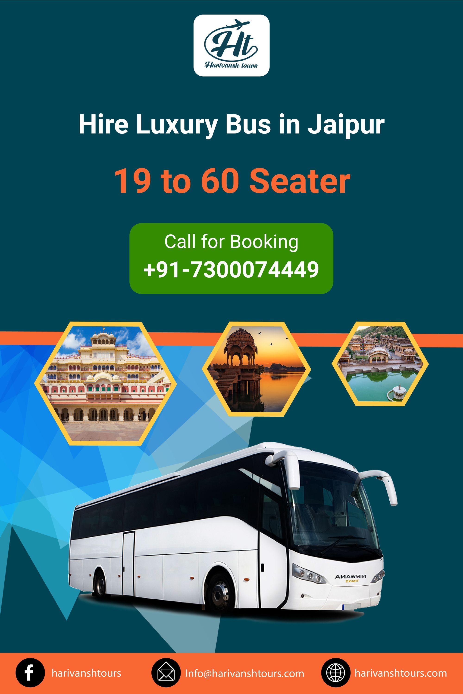 Hire Luxury Bus in Jaipur in 2020 Luxury bus, Jaipur, Rental