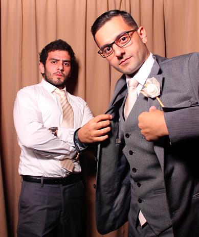 Fun photos at the reception for Ahmad and Amrita.