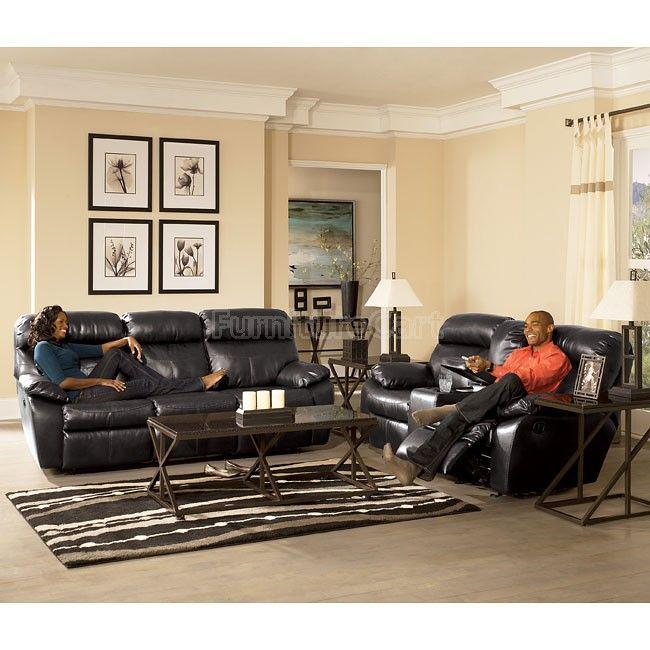 Sander Durablend - Charcoal Power Living Room Set Signature Design 94800-pmlr-set | Furniture Cart