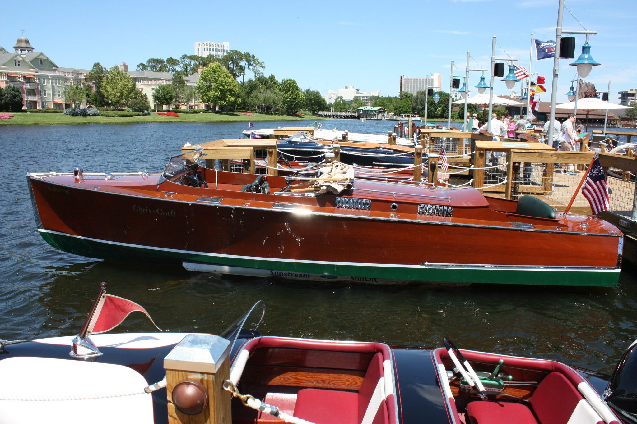 image result for the boathouse italian water taxi tour disney