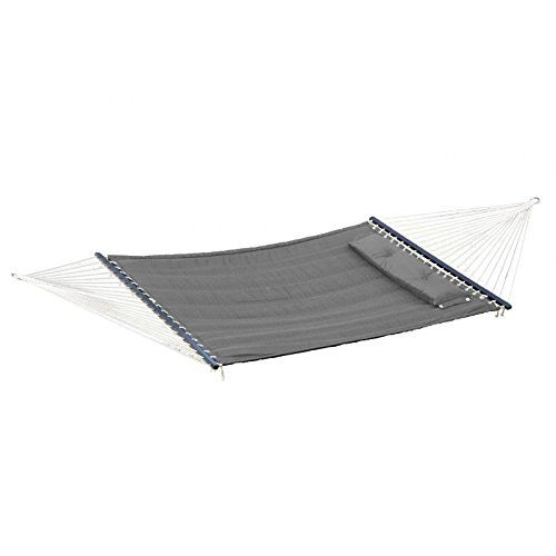 Patio Plus  Quilted Hammock With Pillow  Gray <3 Clicking on the image will lead you to find similar product