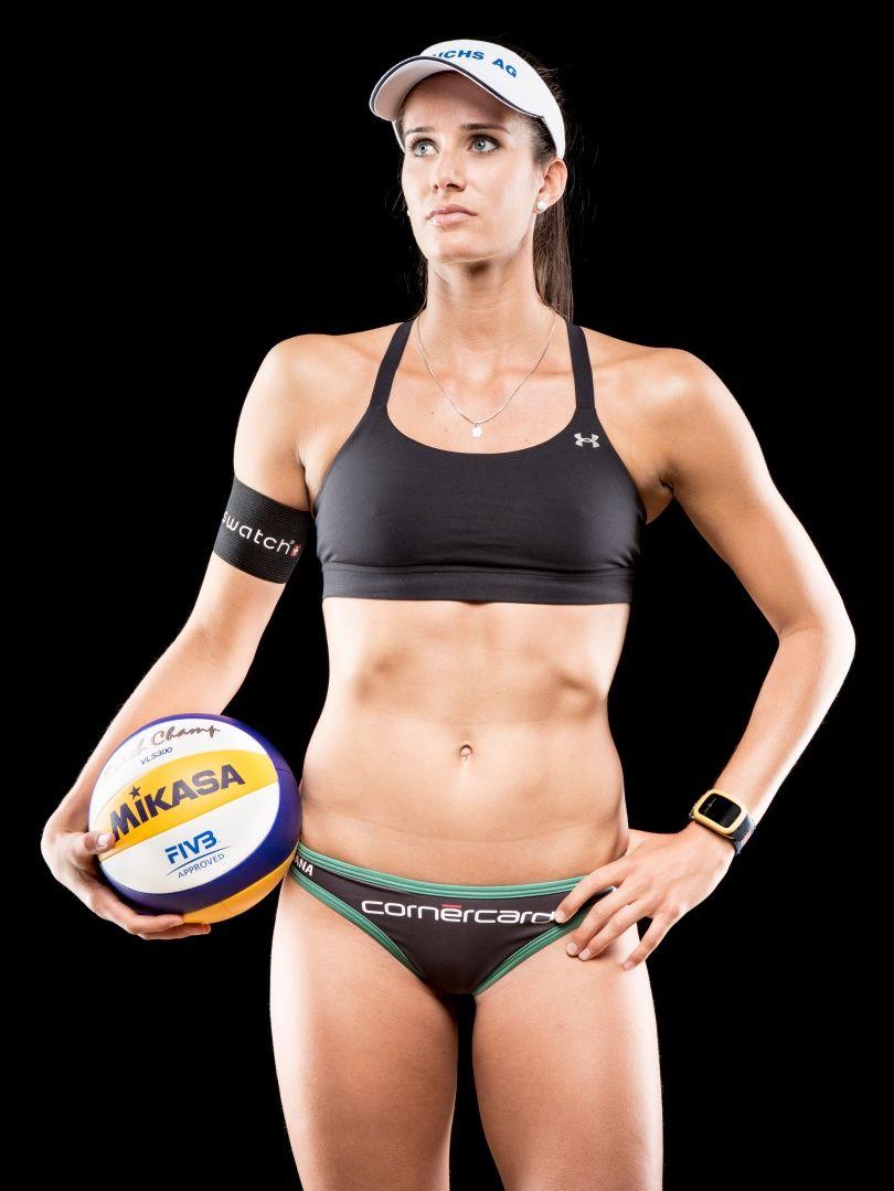 Joana Heidrich (Voleibol Playa-Suiza) | voleibol | Pinterest ...