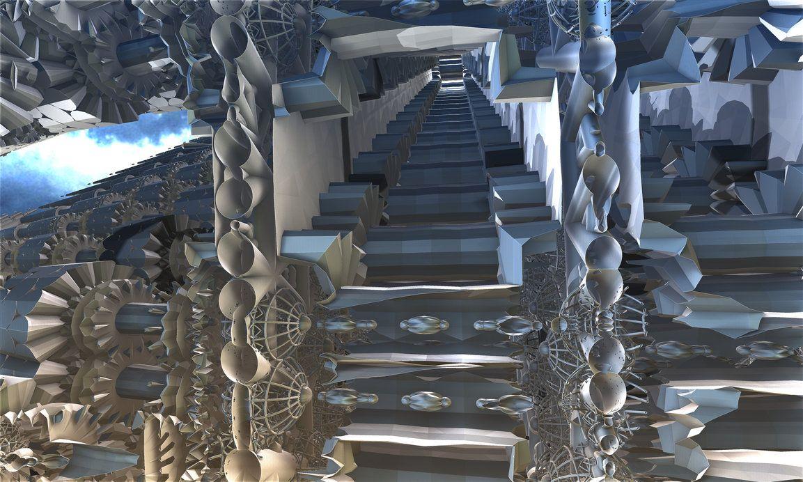 Escalator to have fun by TABASCO-RAREMASTER on DeviantArt