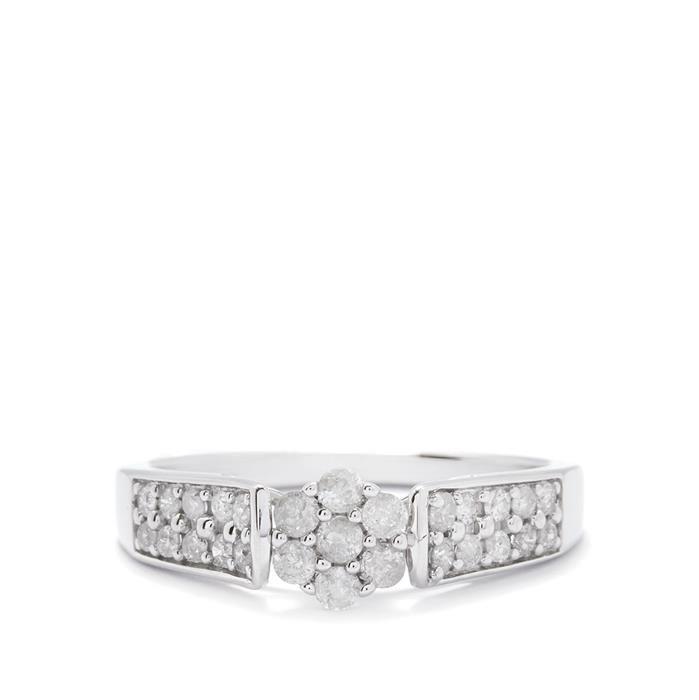 Gemporia Diamond Stud Earrings