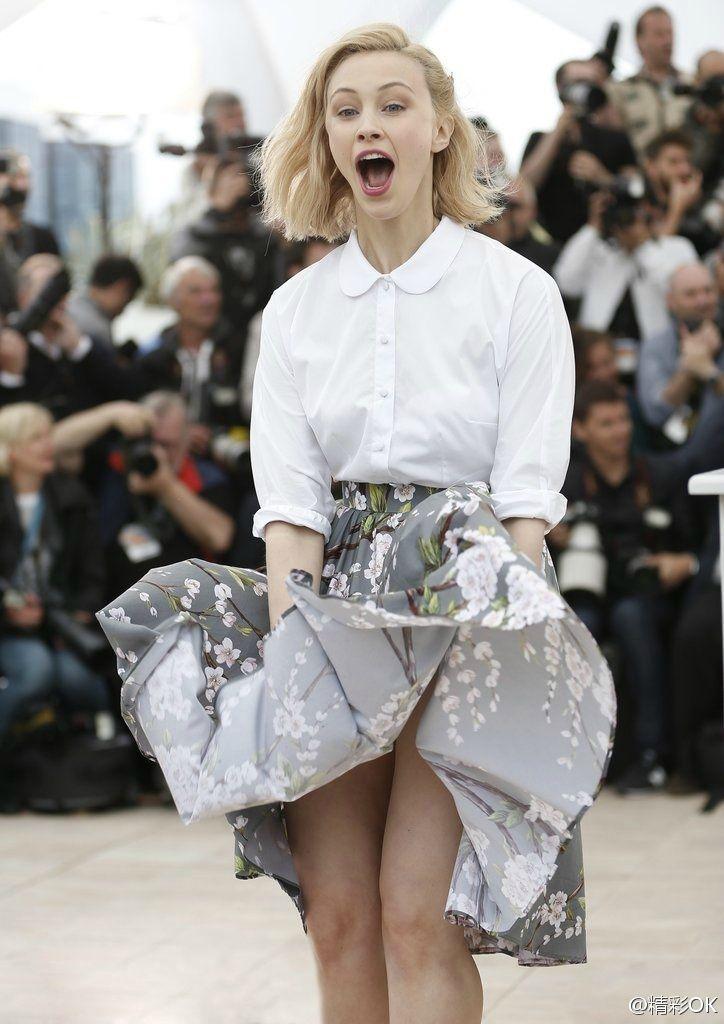 Sarah Gadon at 2014 Cannes Film Festival | Marilyn moments & wardrobe  malfunctions | Pinterest
