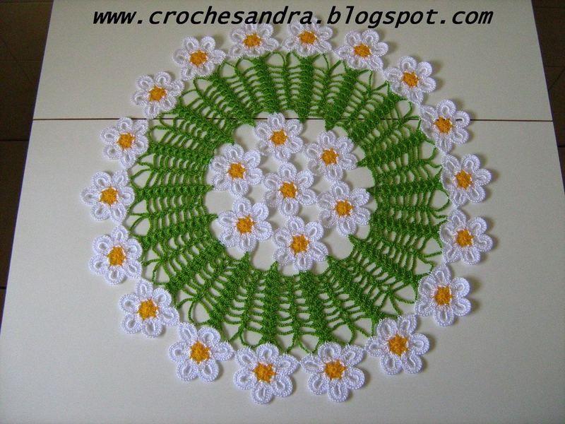 Schemi Centrini Colorati Crochet Co Centrini Uncinetto E