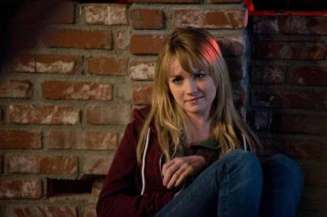 Hair of Britt Robertson in The First Time
