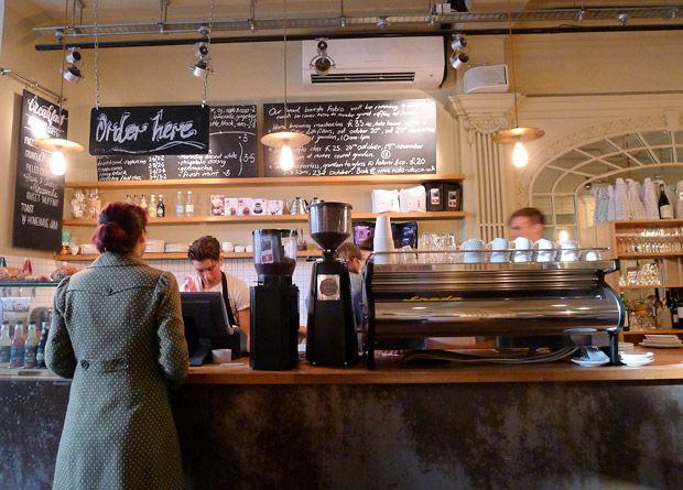 A Visit To Notes Coffee 31 St Martins Lane Trafalgar