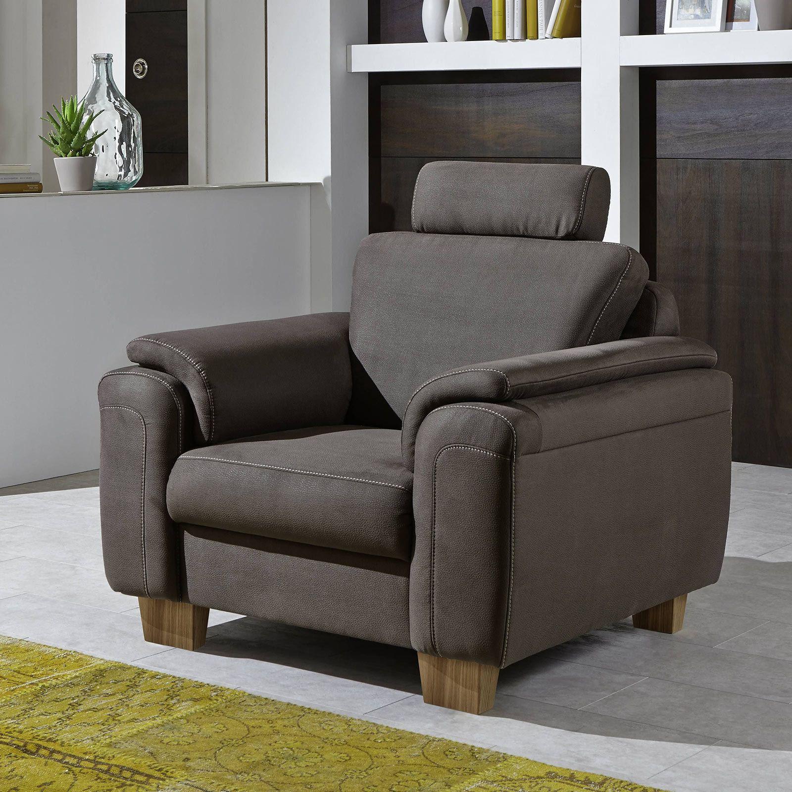 Schau Mal Was Ich Bei Roller Gefunden Habe Sessel Nougat Microfaser Sessel Fernsehsessel Holzwerkstoff