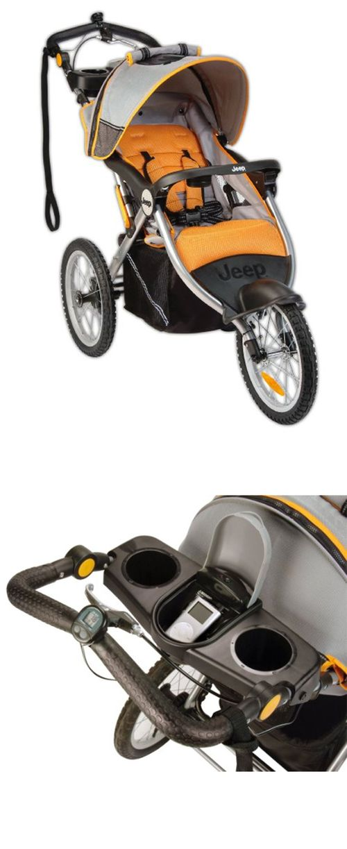 Jeep Overland Limited Jogging Stroller With Front Fixed Wheel