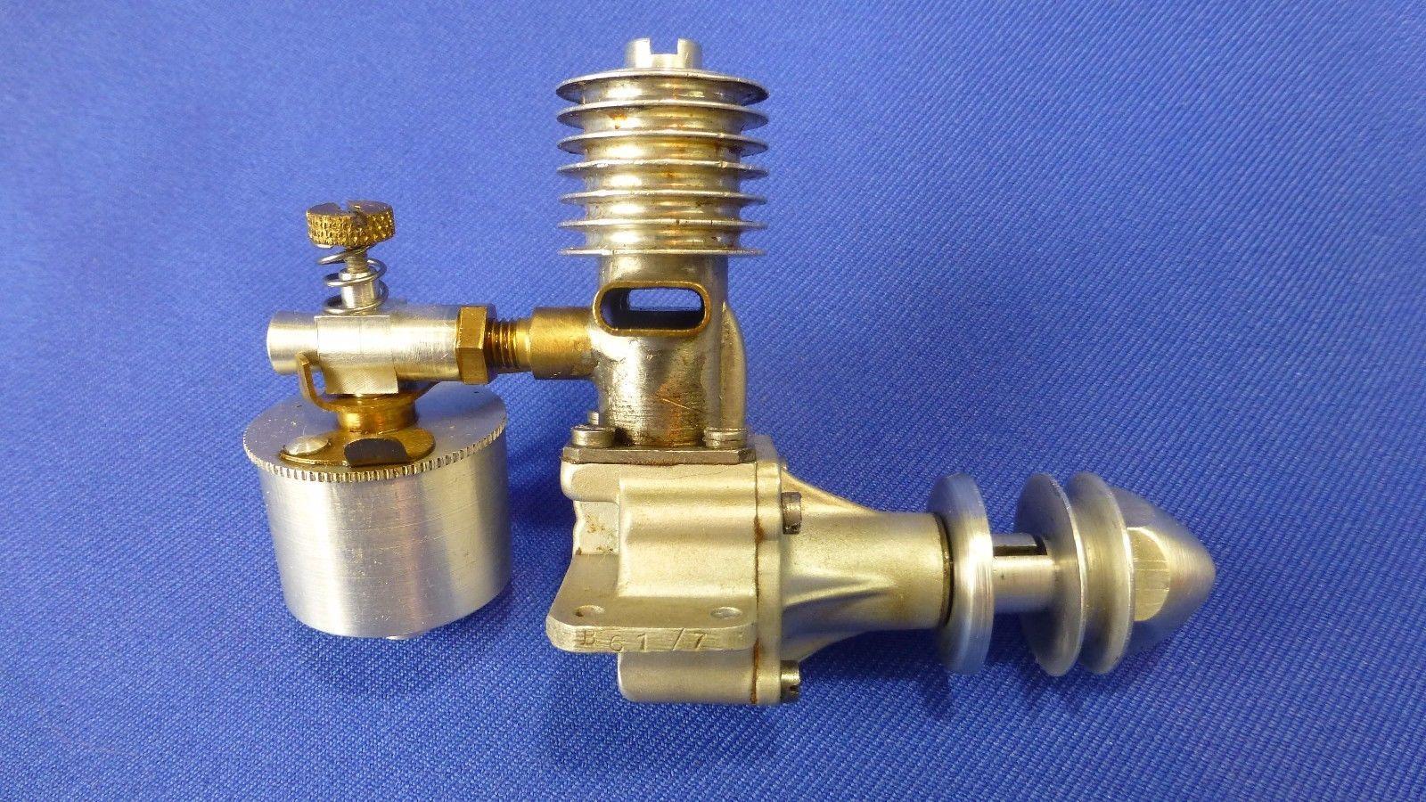Model Airplane Engine Ed Diesel Mark Ii Penny Slot Uk 1947 S N B61 7 Orig Box Ebay Model Airplanes Rc Model Model