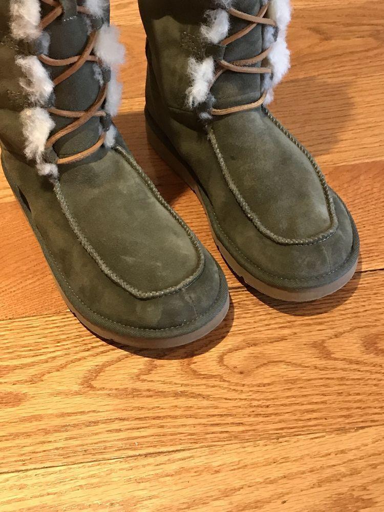 64da50a44c7 UGG Australia Olive Shearling Boots #fashion #clothing #shoes ...