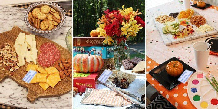 Table Decoration Ideas for Birthday Party Best Of An Autumnal Take On Birthday P…