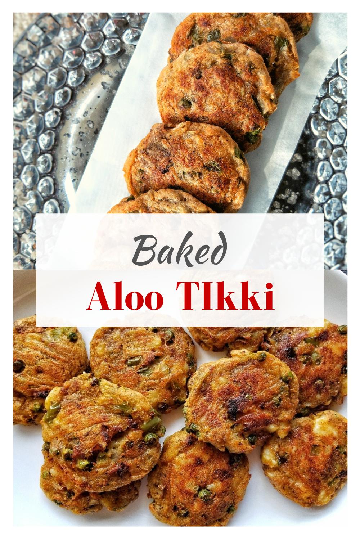 easy baked aloo tikki recipe recipe in 2020 aloo tikki recipe recipes healthy indian snacks on hebbar s kitchen recipes aloo tikki id=77452
