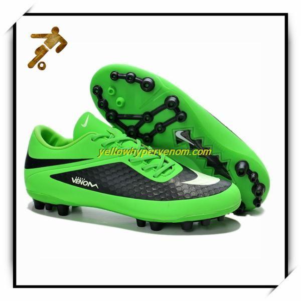 2013 Nike Hypervenom Phantom AG Boots Lime/White/Black Football Boots On  Sale