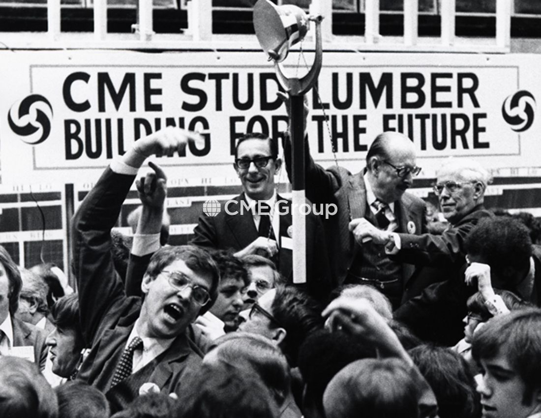 Historical Photo Cme Trading Floor Cme Group Cme Global Economy
