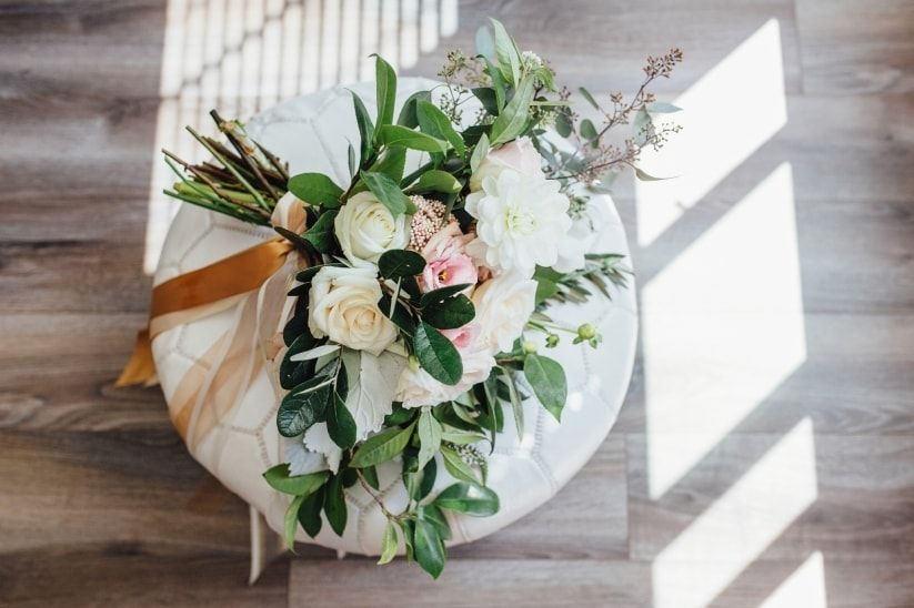 Romantic Spring Bouquet // Photo: Blush Photography