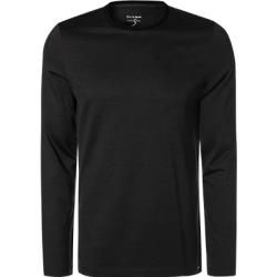 Photo of Olymp men's long-sleeve t-shirt, body fit, cotton, anthracite mottled gray olympymp