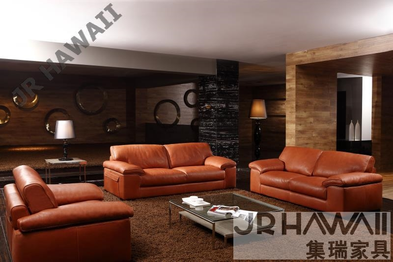 Furniture Smell Quality Maple Directly From China Sun Suppliers High Leather Sofa Modern Living Room