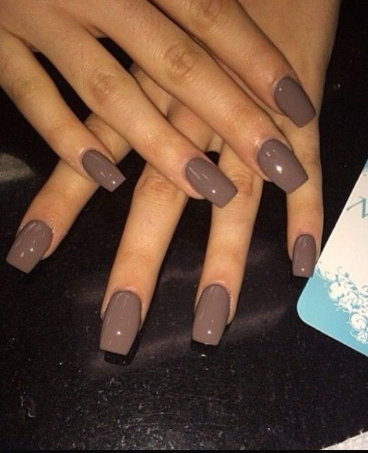Nails, Autumn Nails, Brown Nails