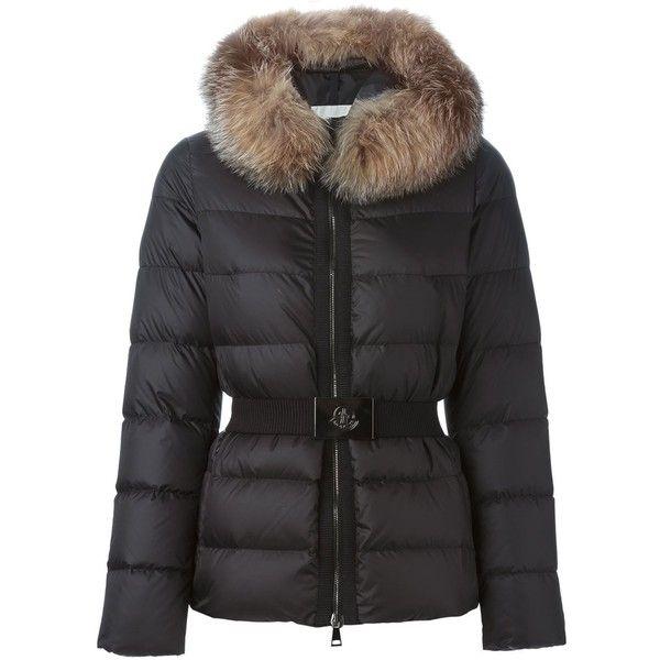 Moncler Fabrette Padded Moncler- Black Feather jacket