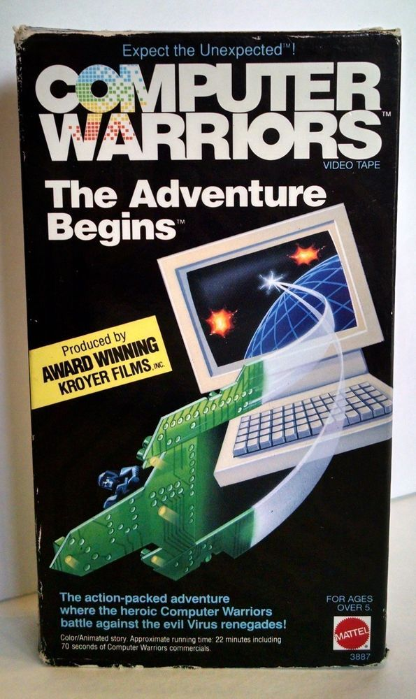 Computer Warriors VHS Tape