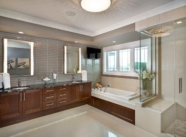 The Casa Transitional Bathroom Edmonton Infiniti Master
