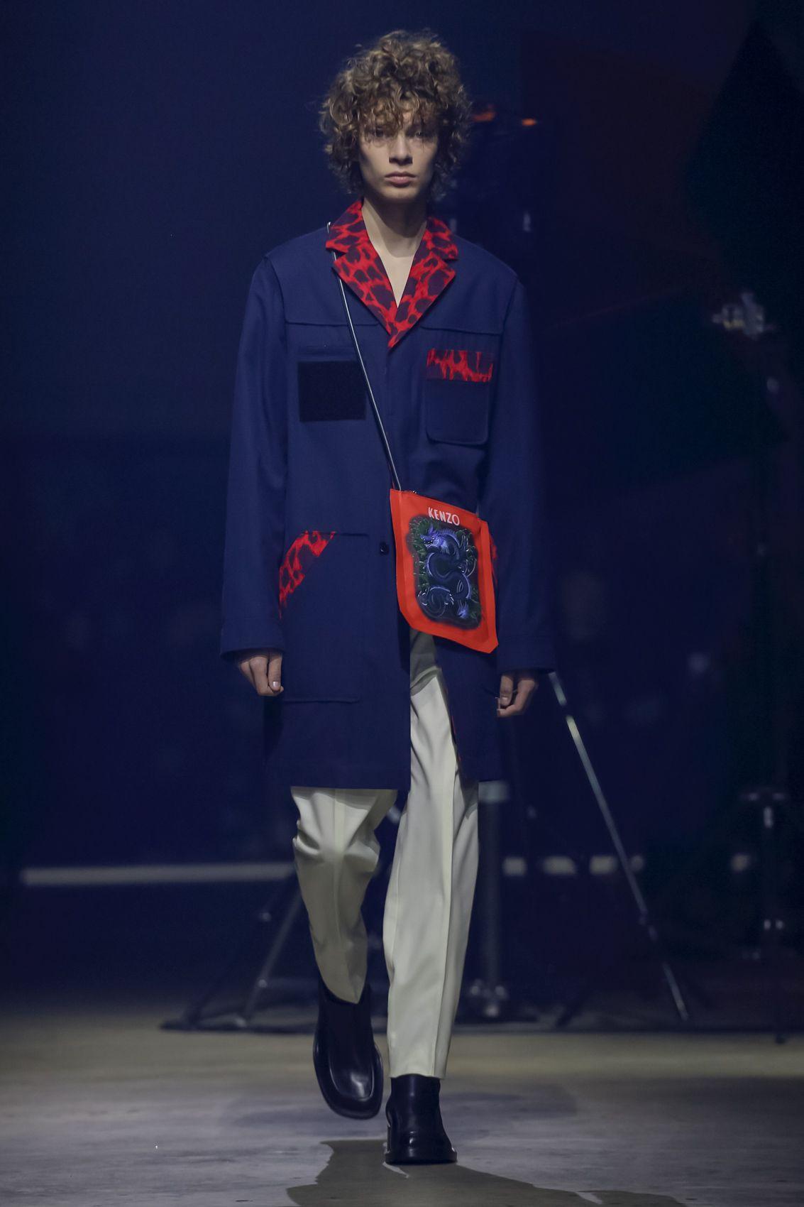 2f6e85ba67ea Kenzo Men   Women Menswear Fall Winter 2018 Paris  Kenzo  PFW   parisfashionweek  menswear  runway  fashion