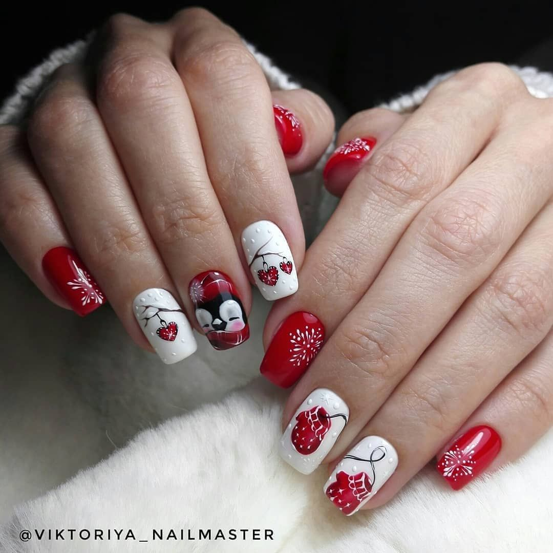 New Years Eve Nail Art Designs For Fun Holiday Xmas nail