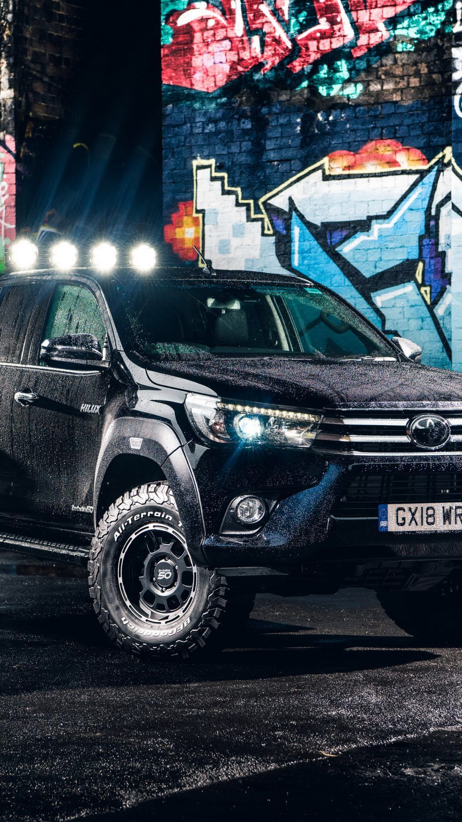 Toyota Hilux Arctic Truck 2018 Free 4K Ultra HD Mobile Wallpaper