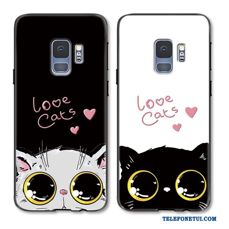 Futeral Dla Samsung Galaxy S9 Wiszace Ozdoby Duzy Kotek Zakochani Kreskowka Etui Na Telefon Online Phone Cases Iphone Phone
