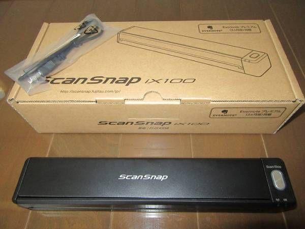 【美品】FUJITSU ScanSnap iX100 FI-IX100A スキャナー_画像1