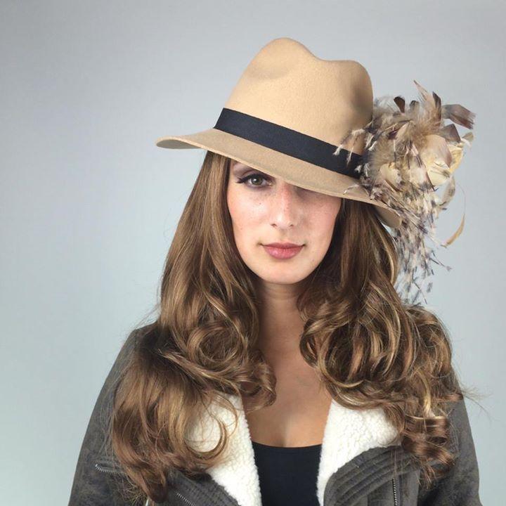 "La Vie en Rosas,""Morgan Leigh"" Fedora Hat. #Hat #Womenshats #Fedora #Woolhat"