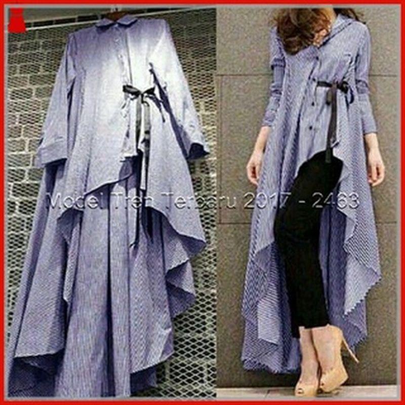 24gbb Baju Dress Hijab Musilm Terbaru Lavender Modis Bj2464 Desain Kurta Desainer Pakaian Baju Atasan Wanita