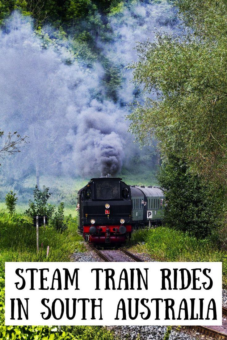 Experiencing the South Australian Steam Train Rides