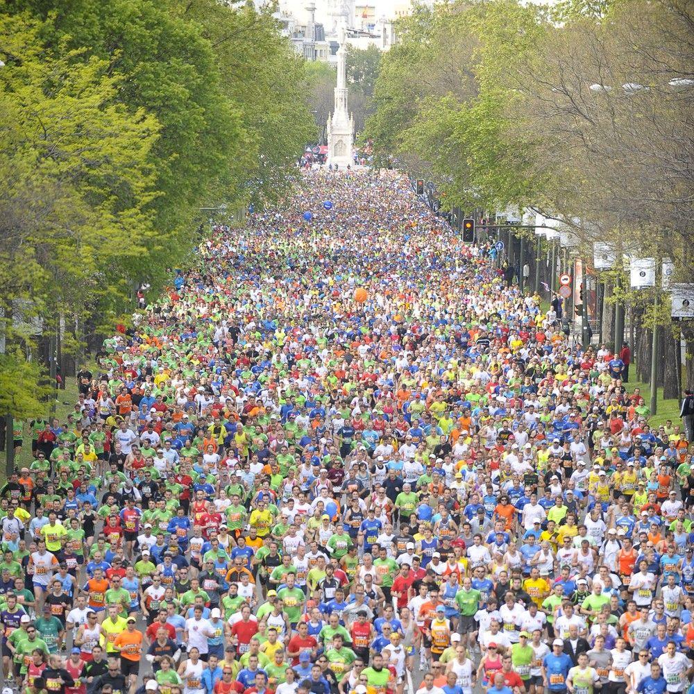 Se viene la Rock 'n' Roll Madrid Maratón & Media Maratón - vía MadridFree, el 27 de Abril de 2014 en #Madrid