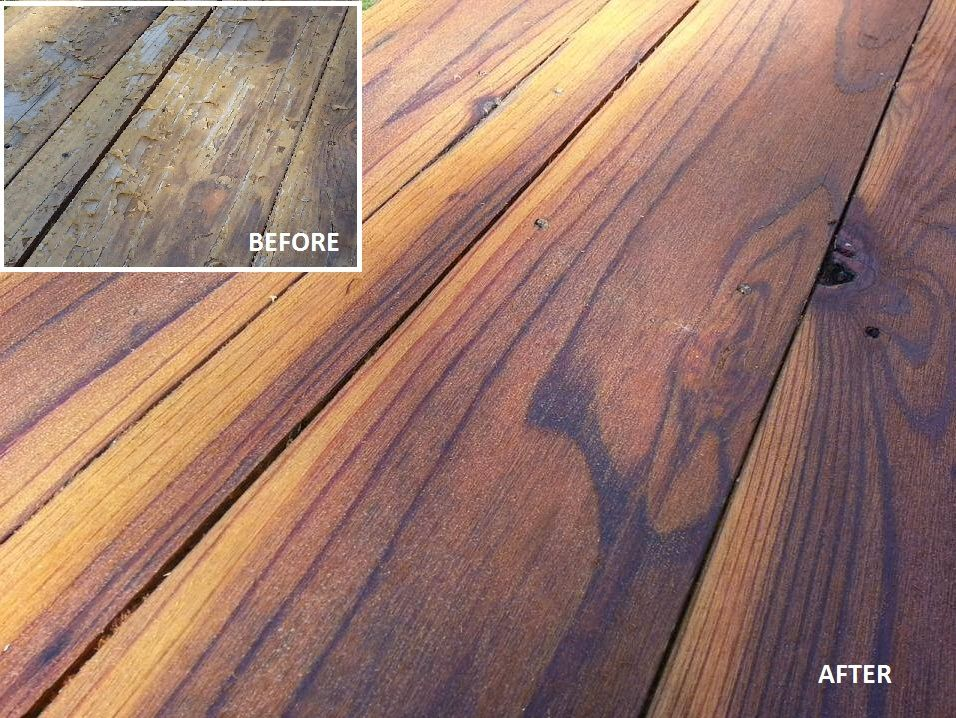 Superdeck Transparent Stain Cedar Tone Natural 1911 On Redwood Deck Thank You Decksteriors Of Co Https Www Faceb Deck Maintenance Easy Deck Deck Makeover