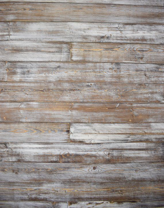 Shiplap Wall Planks Weathered White Brown Shiplap Wall