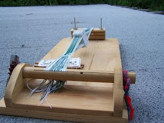 Nellabellabest Portable Card Weaving Loom For Long Lengths Card Weaving Tablet Weaving Patterns Weaving