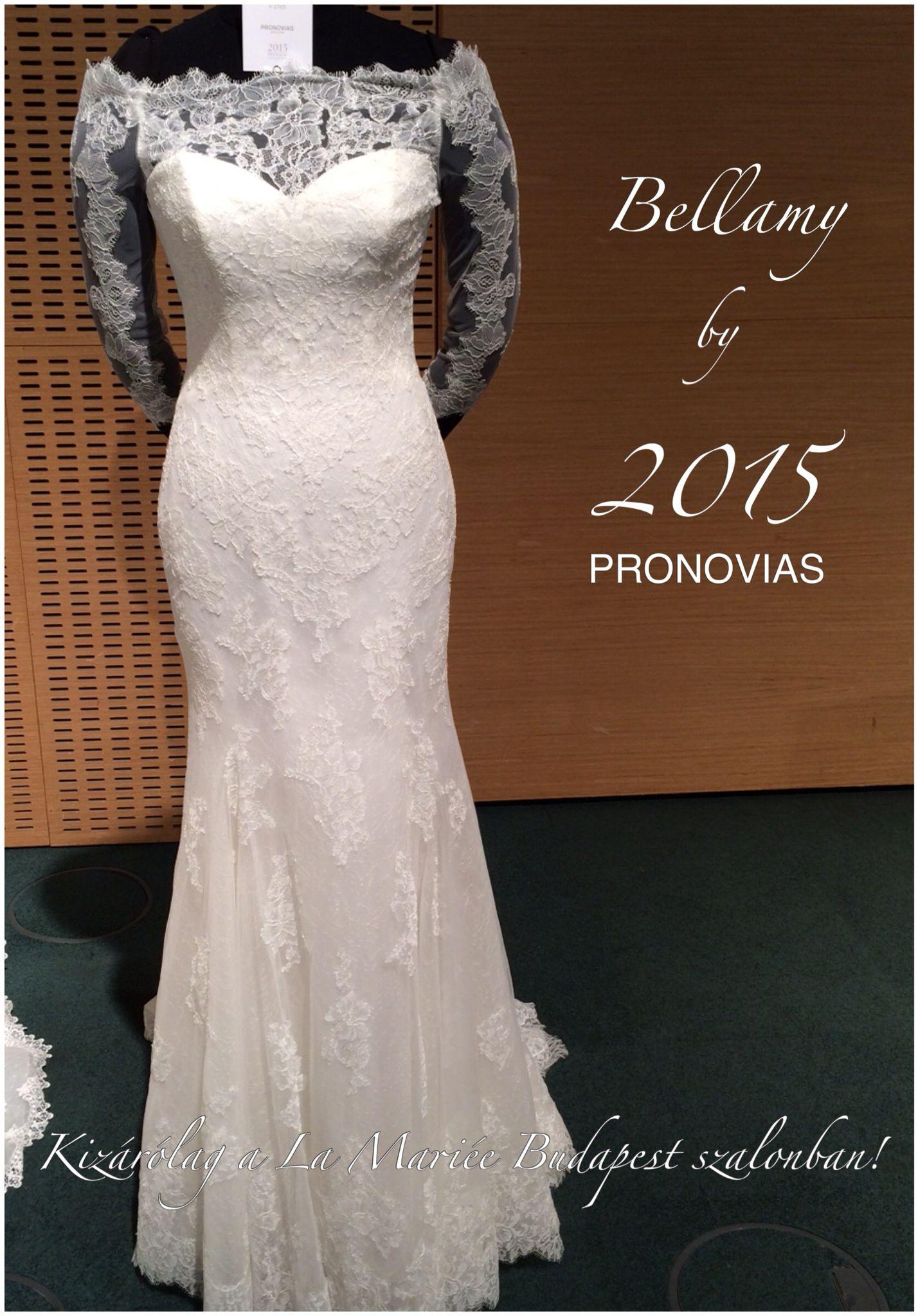 Bellamy esküvői ruha - Pronovias 2015 kollekció  4adec1b459