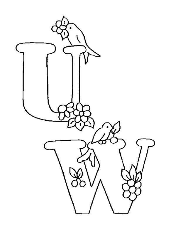 Lernübungen für kinder zu drucken. Infant Alphabete 6 ...