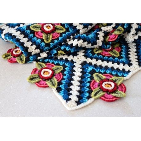 Mexican Diamonds Blanket Kit | Wolle