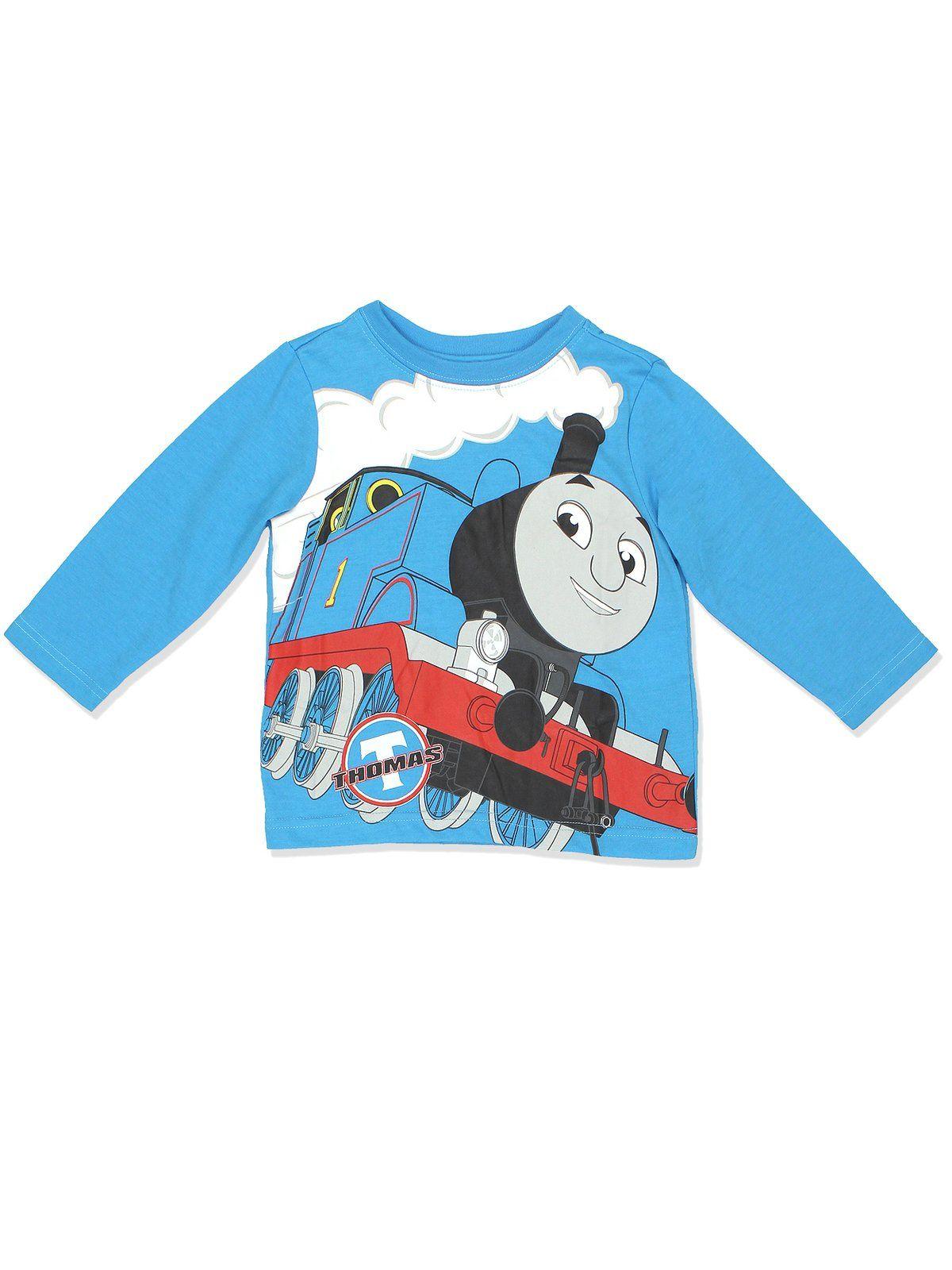 Boy/'s Thomas /& Friends Toddler 3 Piece Pajama Set Top Shorts Pants 3T New