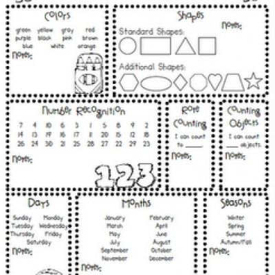 14 Kindergarten Readiness Activities {free printable