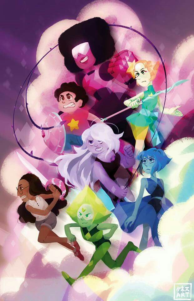 The Crystal Gems Steven Universe Wallpaper Garnet Steven Universe Steven Universe