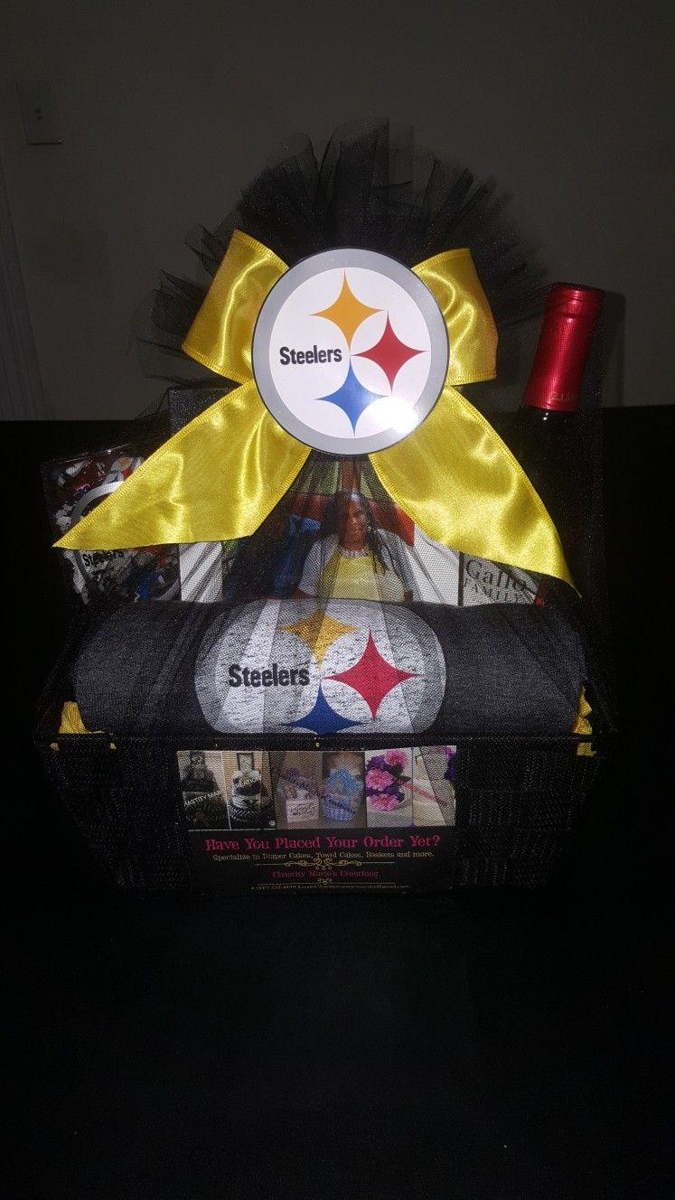 Pittsburgh Steelers Sympathy Gift Basket & Steelers Gift Basket - BestHolidayDeals.CO