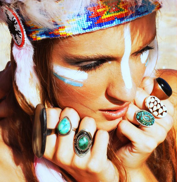 boho chic - cultural appropriation at its best. If you repined this, I'm guessing Ke$ha is your personal role model and that you think Breakfast at Tiffany's is the pinnacle of modern cinema.