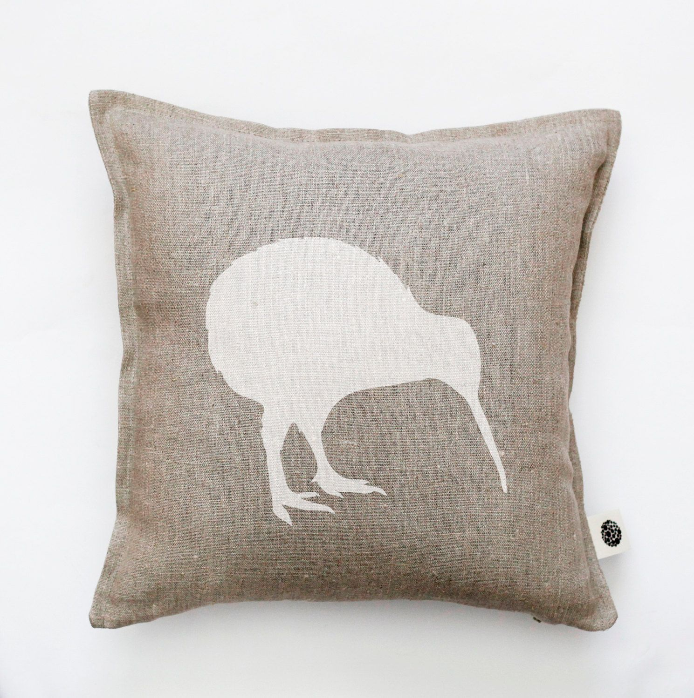 Kiwi bird pillow cover decorative pillow kiwi pillow New